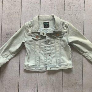 Denim jacket for toddler girl